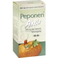Peponen aktív 600 mg lágy kapszula
