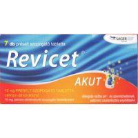 Revicet Akut 10 mg préselt szopogató tabletta