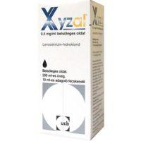 Xyzal 0,5 mg/ml belsőleges oldat