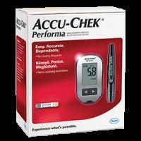 AccuChek Performa vércukormérő tesztcsík nélkül