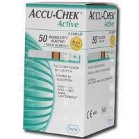 AccuChek Active Glucose vércukorszintmérő csík (Pingvin Product)