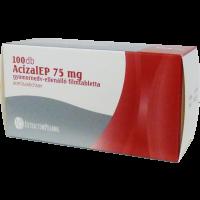 AcizalEP 75mg gyomornedv-ellenálló filmtabletta (ASA 75-EP) (Pingvin Product)