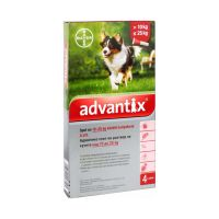 Advantix spot on kutya 10-25kg (a.u.v.)