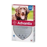 Advantix spot on kutya 25-40kg közötti kutyáknak a.u.v.