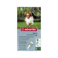 Advantix spot on 0,4ml  4kg alatti kutya a.u.v.