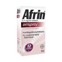 BDV Afrin 0,5 mg/ml oldatos orrspray
