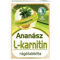 Ananász L-karnitinnel rágótabletta DR.CHEN (Pingvin Product)