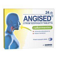 Angised Citrom szopogató tabletta
