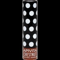 APIVITA Ajakápoló stift színezett, Gesztenyével (Pingvin Product)
