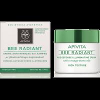 APIVITA BEE RADIANT Bőrfiatalító arckrém Rich (Pingvin Product)