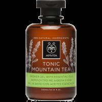APIVITA Tusfürdő pezsdítő hegyi teával és illóolajokkal (Pingvin Product)
