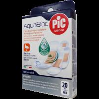 PIC Aquablock sebtapasz antibakteriális vegyes (Pingvin Product)