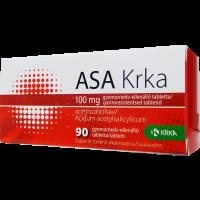 ASA Krka 100 mg gyomornedv-ell.á. tabletta (Pingvin Product)