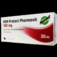 ASA Protect Pharmav.100mg gyomornedv-ellenálló filmtabletta ASA EP