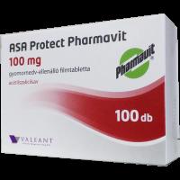 ASA Protect Pharmavit100mg gyomornedv-ellenálló filmtabletta ASA EP (Pingvin Product)