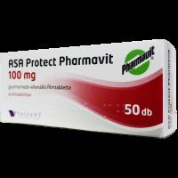 ASA Protect Pharmavit 100mg gyomornedv-ellellenálló filmtabletta ASA EP (Pingvin Product)