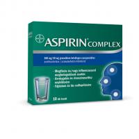 Aspirin Complex 500mg/30mg granulátum belsőleges szuszpenzióhoz 10x