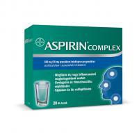 Aspirin Complex 500mg/30mg granulátum belsőleges szuszpenzióhoz (20db)