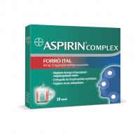 BDV Aspirin Complex Forró Ital 500mg/30mg granulátum belsőleges szuszpenzióhoz 10x