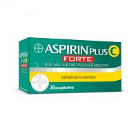 BDV Aspirin Plus C FORTE 800mg/480mg pezsgőtabletta 20x