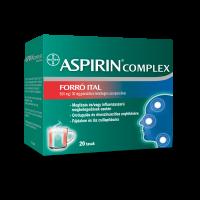 Aspirin Complex Forró Ital 500mg/30mg granulátum belsőleges szuszpenzióhoz