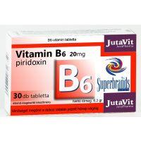 JutaVit B6-vitamin 20 mg tabletta