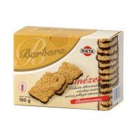 Barbara gluténmentes mézes keksz étcsokis  (180g)