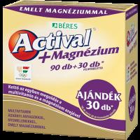 Actival + Magnézium filmtabletta (Pingvin Product)