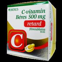C-vitamin Béres 500 mg retard filmtabletta (Pingvin Product)