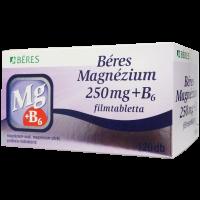 Béres Magnézium 250 mg+B6 filmtabletta /05 - 120x
