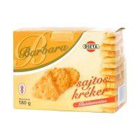 Barbara gluténmentes sajtos kréker