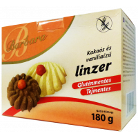Barbara gluténmentes kakaós-vaníliás linzer