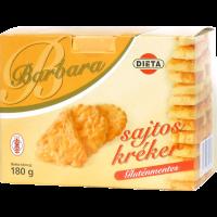 Barbara gluténmentes kréker sajtos