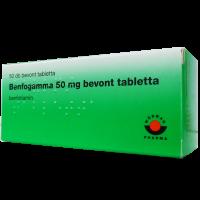 Benfogamma 50 mg bevont tabletta (Pingvin Product)