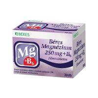 Béres Magnézium 250 mg+B6 filmtabletta