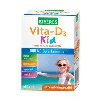 Béres Vita-D3 Kid rágótabletta