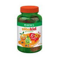 Béres Vitakid C+D3 gumivitamin gumitabletta (Pingvin Product)