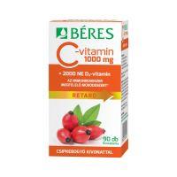 Béres C-vitamin1000mg Csipkebogyó D3 2000NE retard tabletta (Pingvin Product)