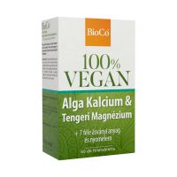 BioCo Vegan Alga Ca tengeri Mg filmtabletta