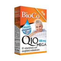 BioCo Q10 Mega 100 mg vízzel elegyedő kapszula