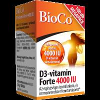 Bioco D3 vitamin Forte 4000 IU tabletta