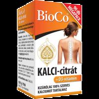 Bioco Kalci-Citrát D3 filmtabletta Megapack