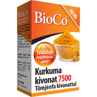 BioCo Kurkuma kivonat 7500Tömjénfa kivonattal kaps (Pingvin Product)