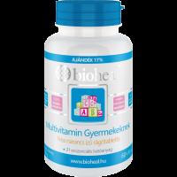 Bioheal Multivitamin Gyermekeknek (70 db) rágótabletta (Pingvin Product)