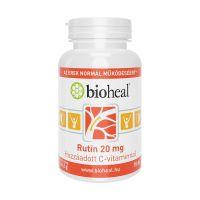 Bioheal Rutin 20 mg C-vitamin filmtabletta (70db)