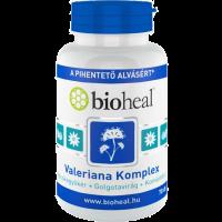 Bioheal Valeriana Komplex (Macskagyökér + Golgotavirág + Komlótoboz) (70 db) kapszula