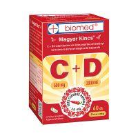 Biomed Magyar Kincs C+D vitamin kapszula
