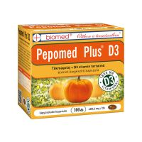 Biomed Pepomed Plus D3 vitamin kapszula
