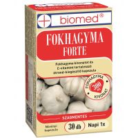 Biomed Fokhagyma Forte kapszula (Pingvin Product)