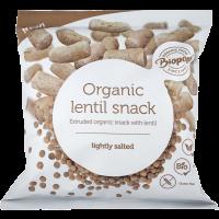 Biopont Bio extrudált lencse snack enyhén sós (Pingvin Product)